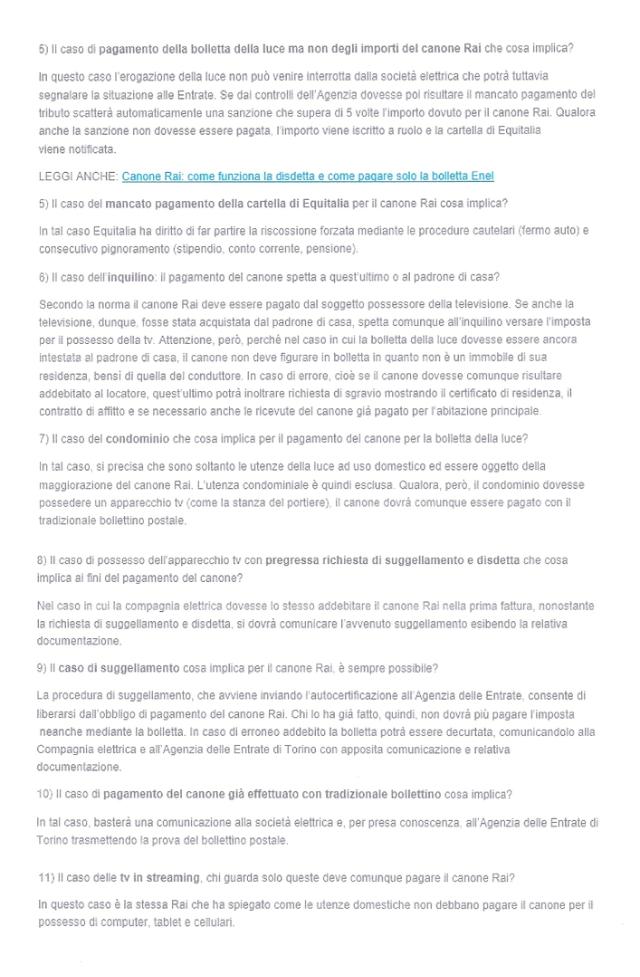 Http://www.leggioggi.it/2015/11/26/canone Rai  Bolletta Enel Risposte Tutte Vostre Domande/